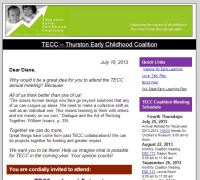 TECC E-News Sign-up